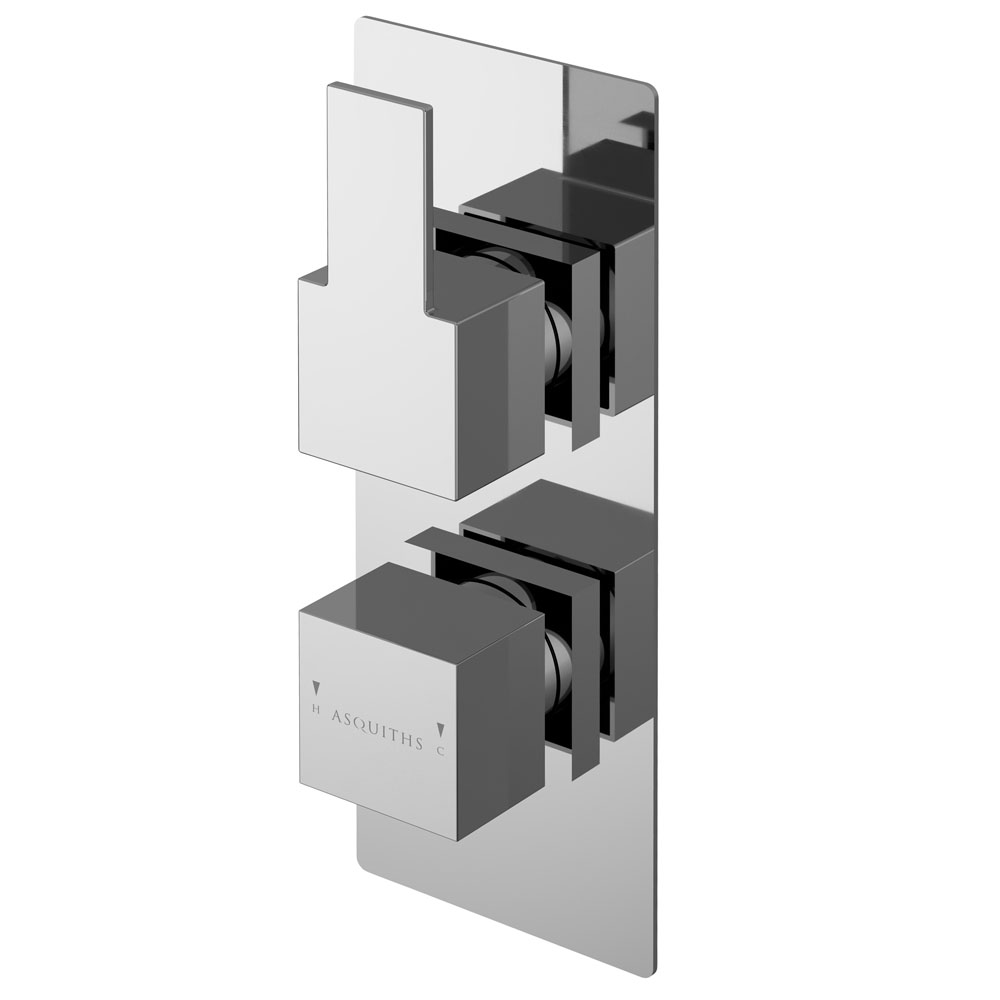 Asquiths Revival Twin Concealed Shower Valve - SHC5114