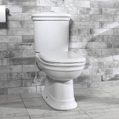 Silverdale Hillingdon Close Coupled Toilet inc Soft Close Seat
