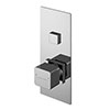 Asquiths Tranquil Push Button Shower Valve (Single Outlet) - SHD5101 profile small image view 1
