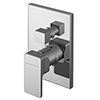 Asquiths Tranquil Manual Concealed Shower Valve With Diverter - SHD5112 profile small image view 1