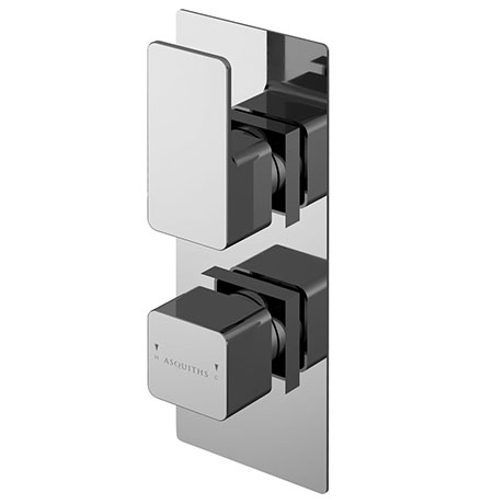 Asquiths Tranquil Twin Concealed Shower Valve With Diverter - SHD5115
