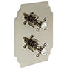 Heritage Hartlebury Twin Concealed Shower Valve - Vintage Gold - SHDA02 profile small image view 1
