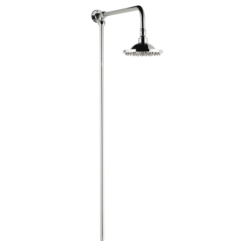 Asquiths Traditional Rigid Riser Kit with 200mm Shower Head - SHE5153