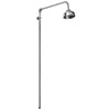 Asquiths Traditional Rigid Riser Kit with 100mm Shower Head - SHE5156 profile small image view 1