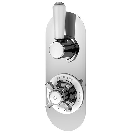 Asquiths Restore Twin Concealed Shower Valve With Diverter - SHE5315