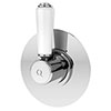 Asquiths Restore Concealed Stop Tap - SHE5321 profile small image view 1