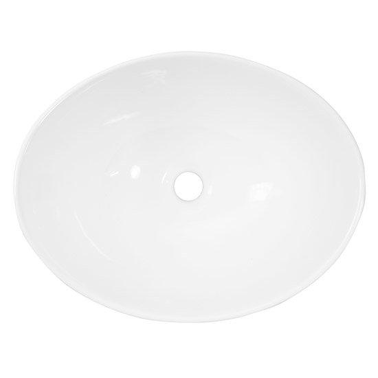 RAK - Shell Sit On Vanity Basin - No TH - SHELBAS Profile Large Image