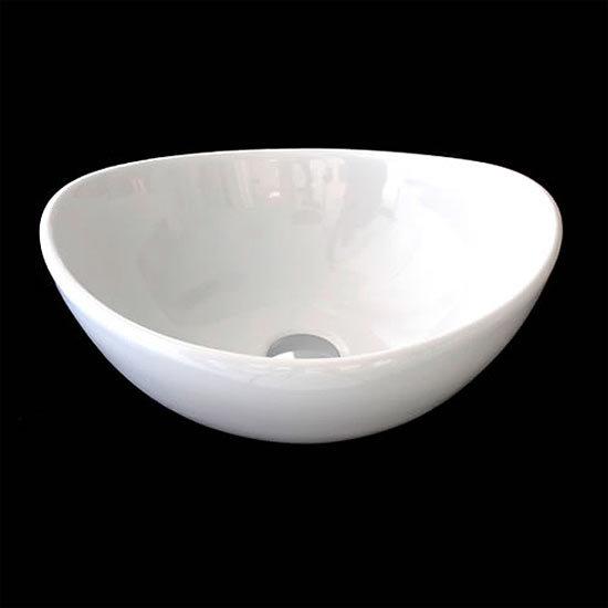 RAK - Shell Sit On Vanity Basin - No TH - SHELBAS Large Image