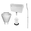 RAK Concealed Urinal Pack with 1 Shino Urinal Bowl profile small image view 1