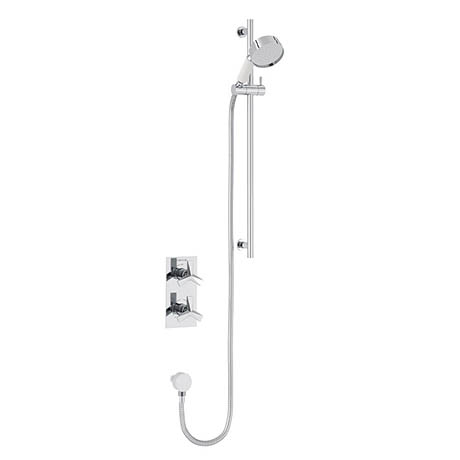 Heritage Hemsby Dual Control Recessed Valve with Adjustable Riser