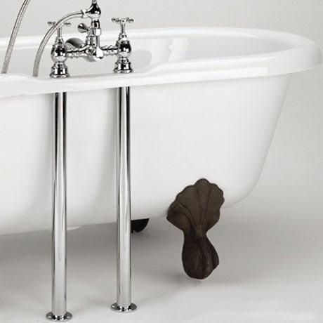 Bristan - Bath Pipe Shrouds - Chrome - SHR-C