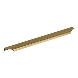 Britton Shoreditch Handle 396mm - Brushed Brass