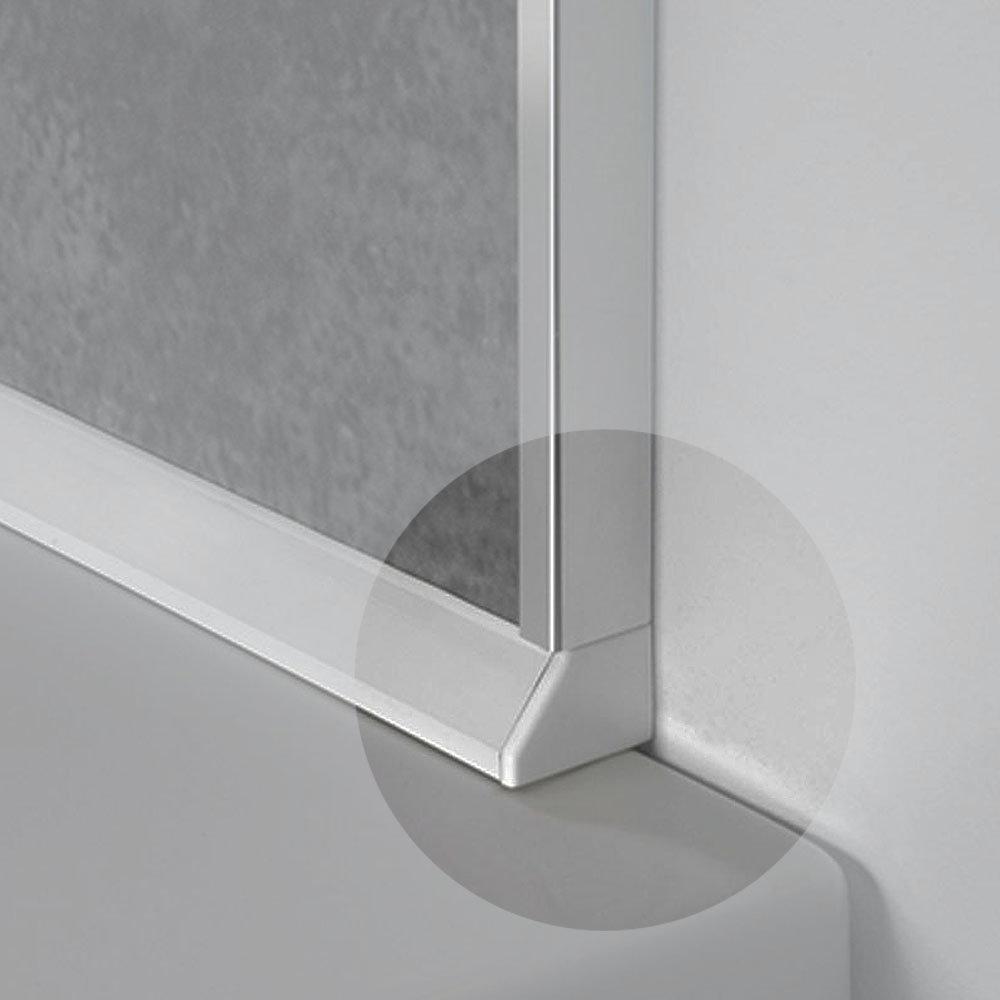 Showerwall - Sealux End Caps - White
