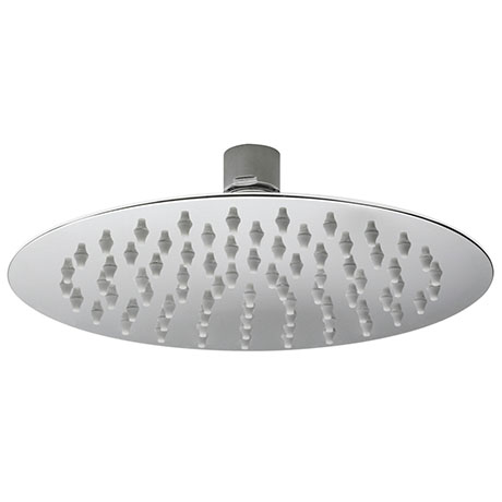 Asquiths 200mm Slim Round Fixed Shower Head - SHZ5129