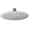 Asquiths 200mm Slim Round Fixed Shower Head - SHZ5129 profile small image view 1
