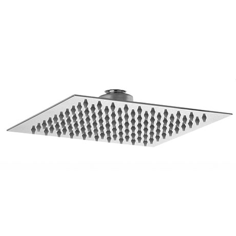 Asquiths 200mm Slim Square Fixed Shower Head - SHZ5146