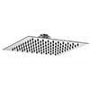 Asquiths 200mm Slim Square Fixed Shower Head - SHZ5146 profile small image view 1