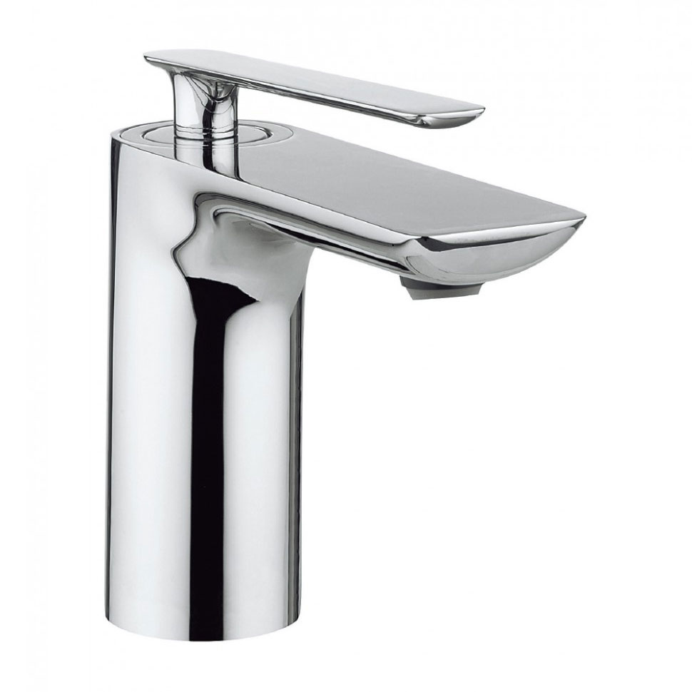 Crosswater - Silk Monobloc Basin Mixer - SI110DNC profile large image view 1