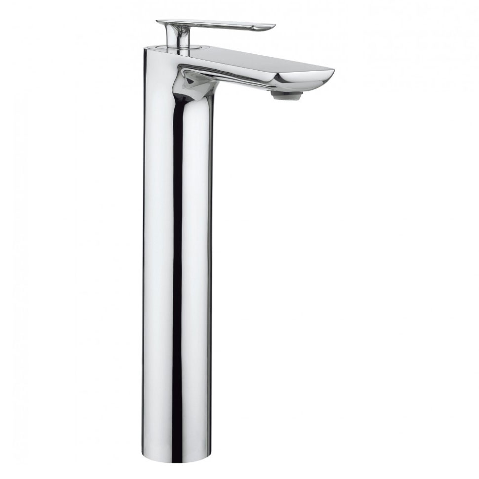 Crosswater - Silk Tall Monobloc Basin Mixer - SI112DNC profile large image view 1