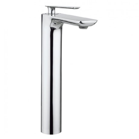 Crosswater - Silk Tall Monobloc Basin Mixer - SI112DNC