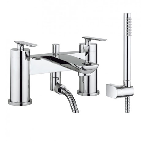 Crosswater - Silk Bath Shower Mixer with Kit - SI422DC