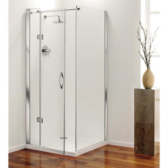 Coram - Frameless Premier Shower Enclosure Side Panels - 2 x Size Options Profile Large Image