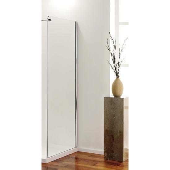 Coram - Frameless Premier Shower Enclosure Side Panels - 2 x Size Options Large Image