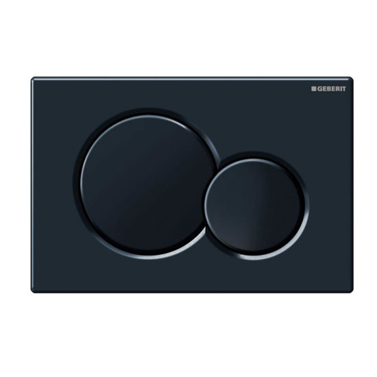 Geberit - Sigma01 Dual Flush Plate for UP320 Cistern - Various Colours profile large image view 2