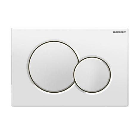 Geberit - Sigma01 Dual Flush Plate for UP320 Cistern - Various Colours