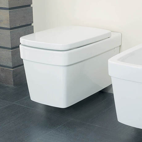 Silverdale Henley Wall Mounted Toilet inc Soft Close Seat