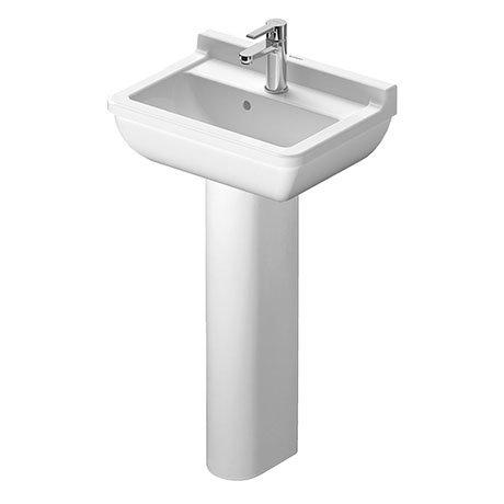 Duravit Starck 3 1TH Basin + Full Pedestal