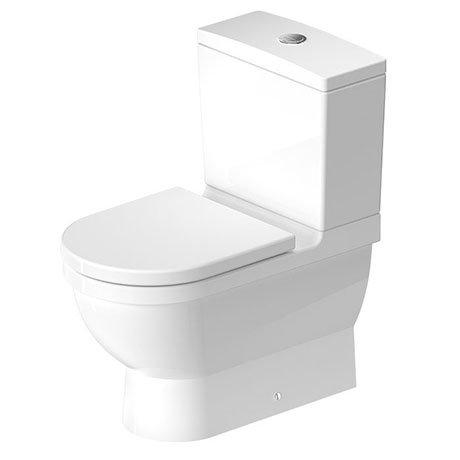 Duravit Starck 3 BTW Close Coupled Toilet + Seat