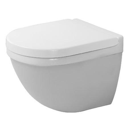 Duravit Starck 3 Compact Wall Hung Toilet + Seat
