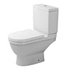 Duravit Starck 3 Close Coupled Toilet + Seat profile small image view 1