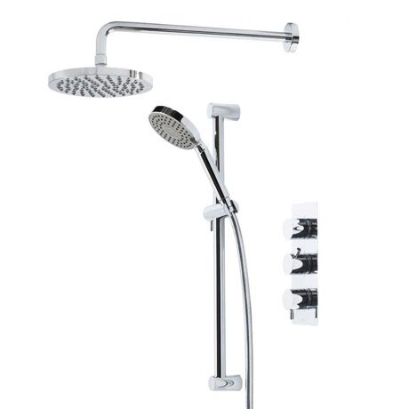 Tavistock Kinetic Thermostatic Concealed Dual Function Diverter Valve Shower System