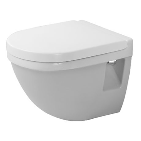 Duravit Starck 3 Compact Wall Hung Toilet Pan + Seat