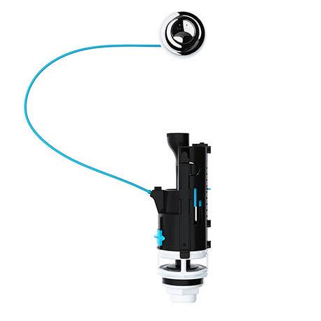 Viva Skylo Dual Flush Valve (Long Cable)