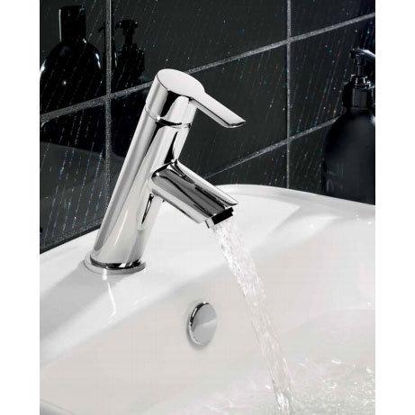 Crosswater - Slide Mini Monobloc Basin Mixer - SL114DNC Profile Large Image