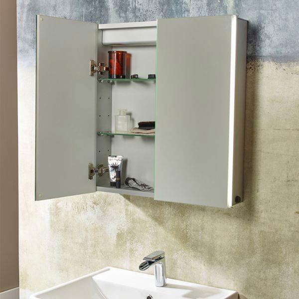 Tavistock Sleek Double Door Cabinet with LED Lighting profile large image view 3