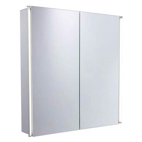 Tavistock Sleek Double Door Cabinet with LED Lighting Large Image