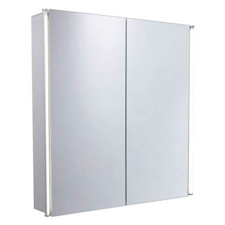 Tavistock Sleek Double Door Cabinet with LED Lighting