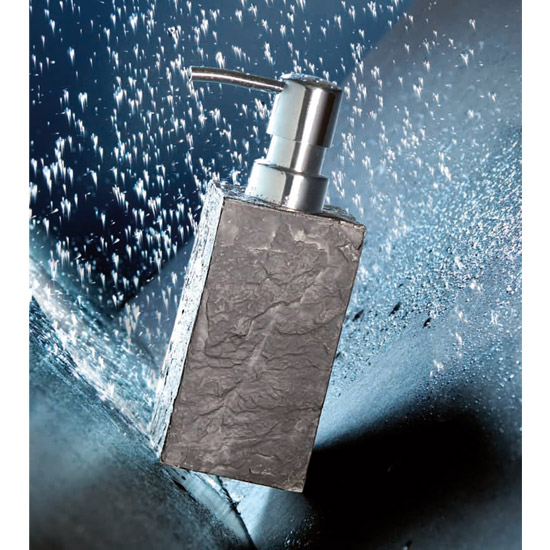 Wenko Slate Rock Bath Accessories Set profile large image view 2