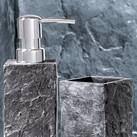 Slate Bathroom Accessories KK Roccommunity - Slate bathroom accessories