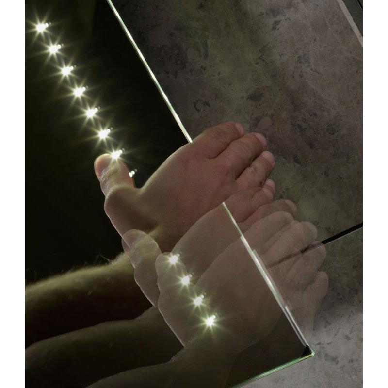 Tavistock Refraction LED Illuminated Mirror profile large image view 3
