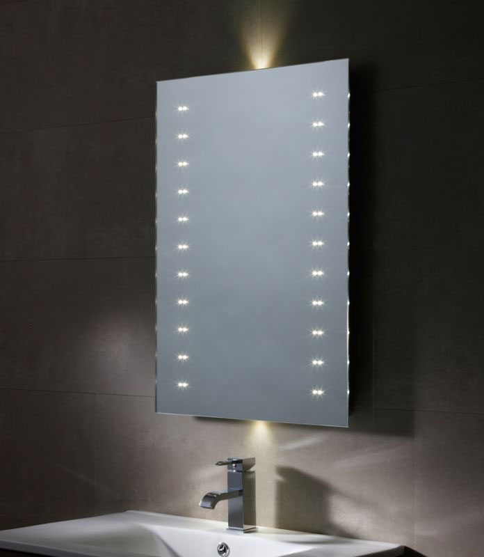 Tavistock Refraction LED Illuminated Mirror Large Image