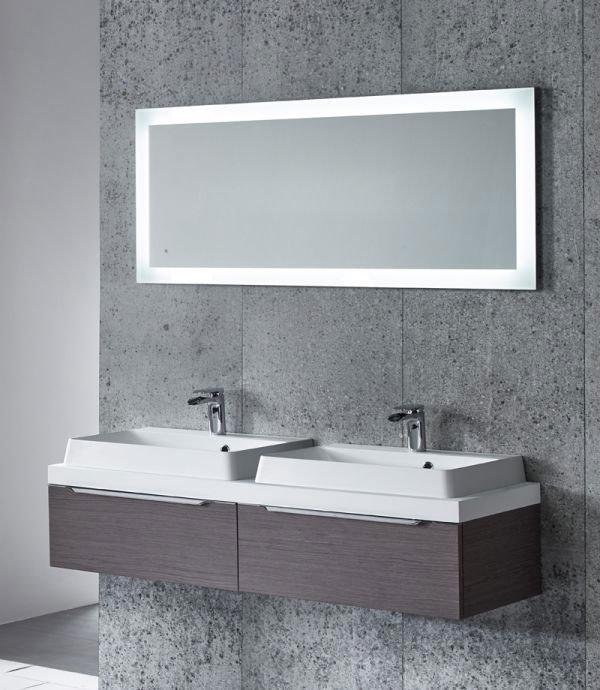 Tavistock Drift LED Backlit Illuminated Mirror profile large image view 3