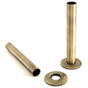 Sleeving Kit 130mm (pair) - Antique Brass profile small image view 1