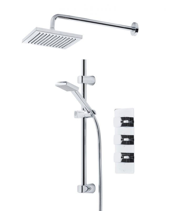 Tavistock Logic Thermostatic Concealed Dual Function Diverter Valve Shower System Large Image