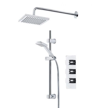 Tavistock Logic Thermostatic Concealed Dual Function Diverter Valve Shower System