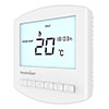 Heatmiser Slimline-B Battery Powered Programmable Thermostat profile small image view 1